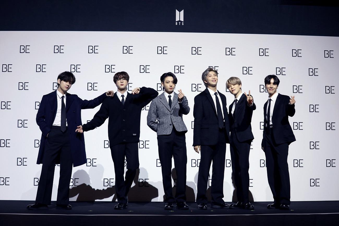 写真1 BTS 'BE' 発売グローバル記者懇談会_PhotoTime_1