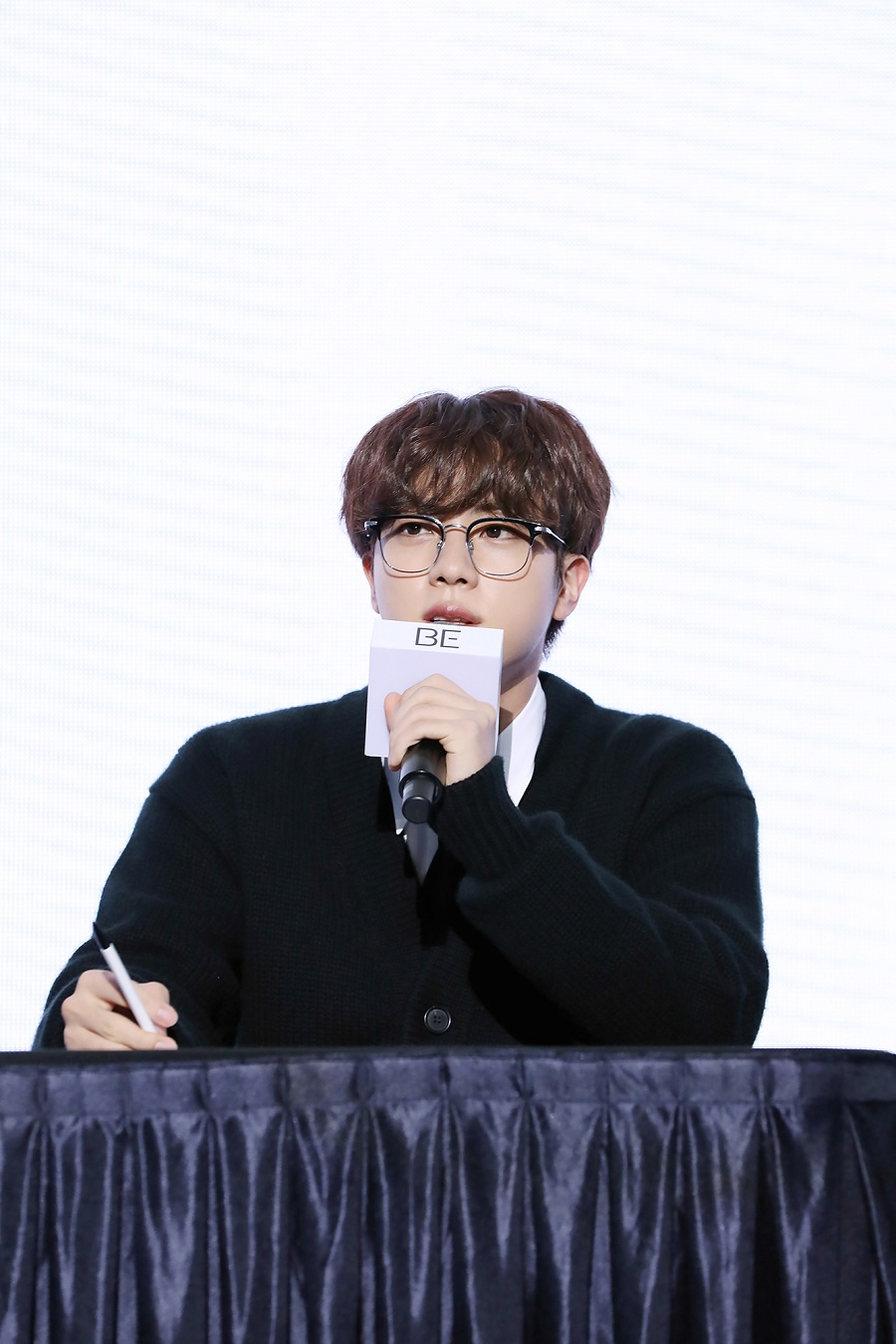 BTS 'BE' 発売グローバル記者懇談会_JIN