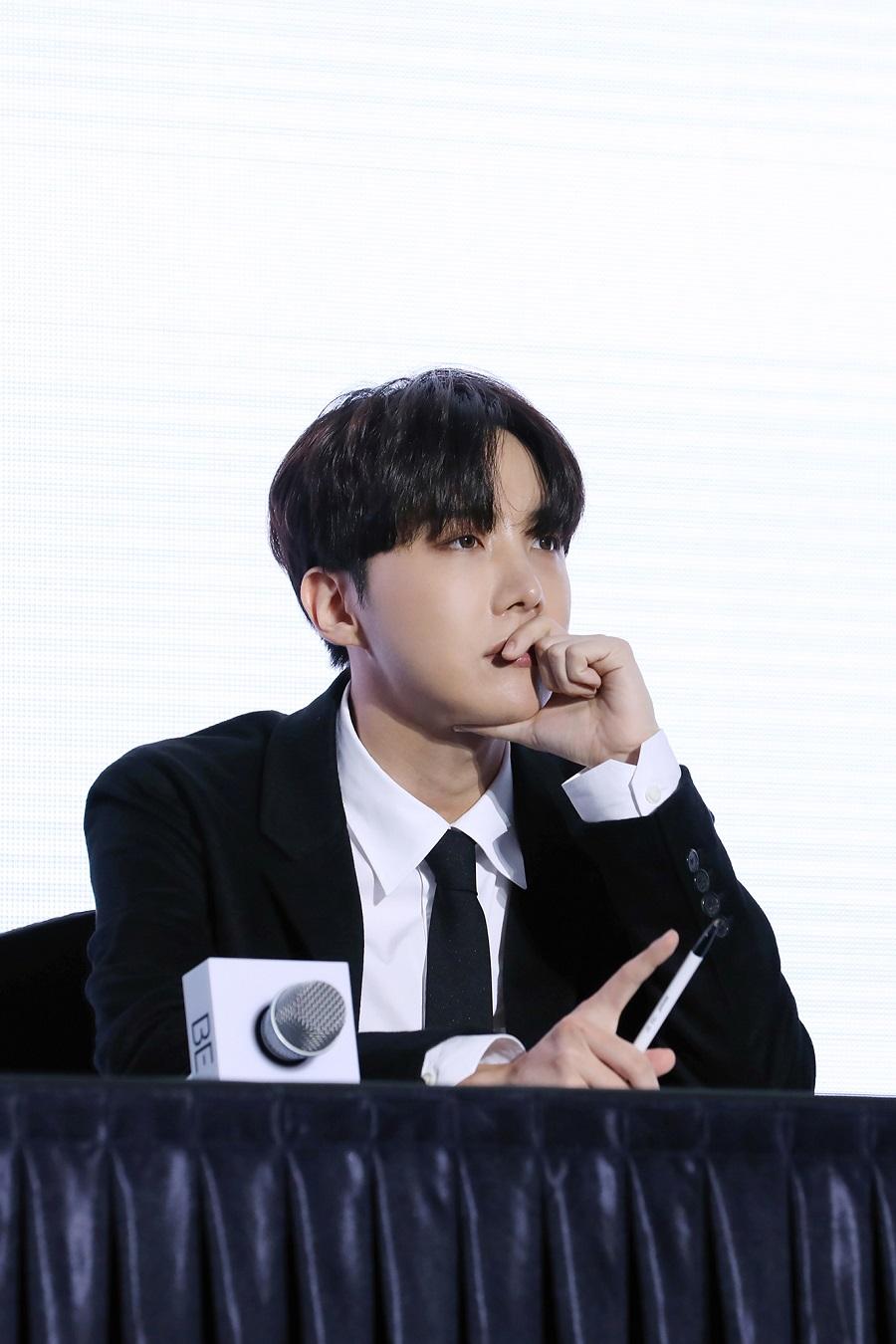 BTS 'BE' 発売グローバル記者懇談会_JHOPE