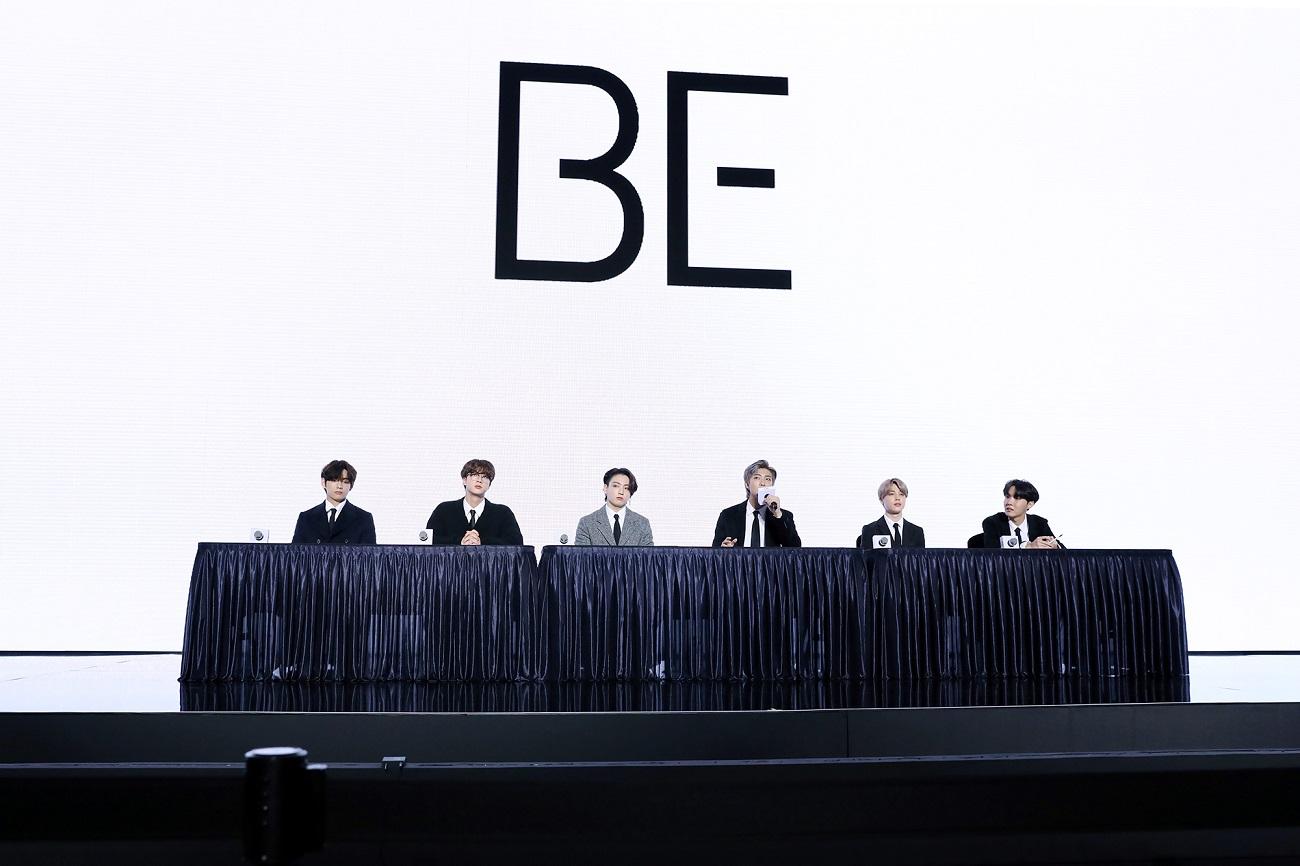 写真2 BTS 'BE' 発売グローバル記者懇談会_3