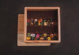 """まるで花の宝石箱や~!? 和食料理人が作る""""花咲く和菓子"""""""