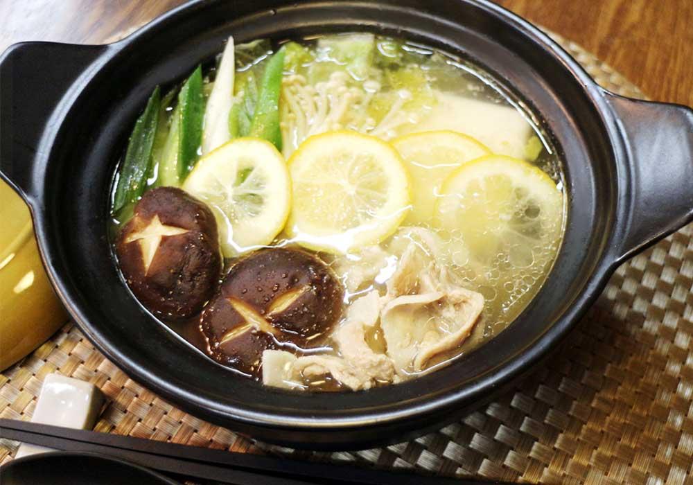 鍋 簡単 レシピ 豚肉 レモン