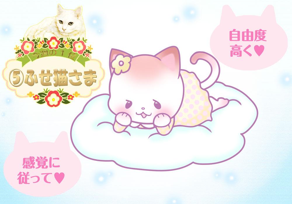 占い 2021年 3月 猫さま占い 週間 運勢 開運 恋愛運