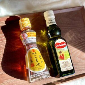 アイスにかけても!…「ごま油とオリーブオイル」美容にいい簡単活用法
