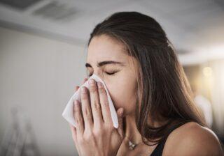 鼻づまり、鼻水が辛いあなたへ…症状を抑える簡単な方法 #100