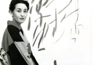 ビートルズも感激!「世界が尊敬する日本人100人」に選ばれた美術家の墨アート