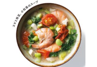 """【お手軽レシピ】夜の""""レンチンスープ""""で美味しくキレイに! お手軽レシピ"""
