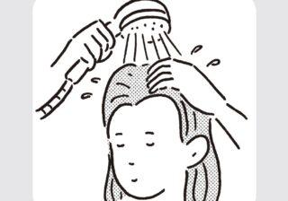 シャンプーは入浴前が大事!? きれいな髪の人が教えるブラッシングとは