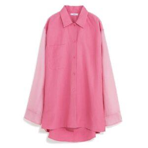 バックで大胆に肌見せできる春色シャツ! 気になるアイテム5選