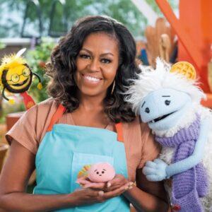 製作総指揮はミシェル・オバマ! モチとワッフルが主役!? の食育動画とは