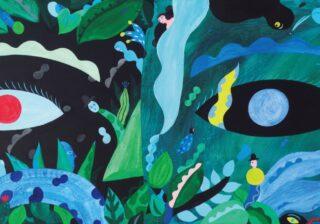 ビビッドな色彩に引き込まれる! メキシコ拠点の画家、岡田杏里の展覧会