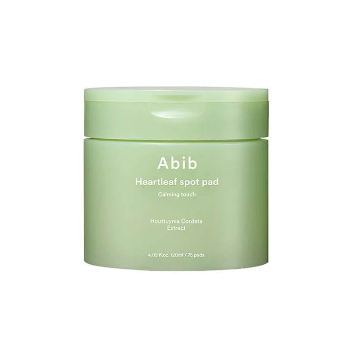 「Abib Heartleaf spot pad Calming touch」¥3,120(税込)