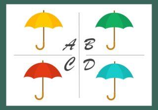 「どの傘がすき?」【心理テスト】選んだ傘でわかる「あなたが恋人に求めるもの」