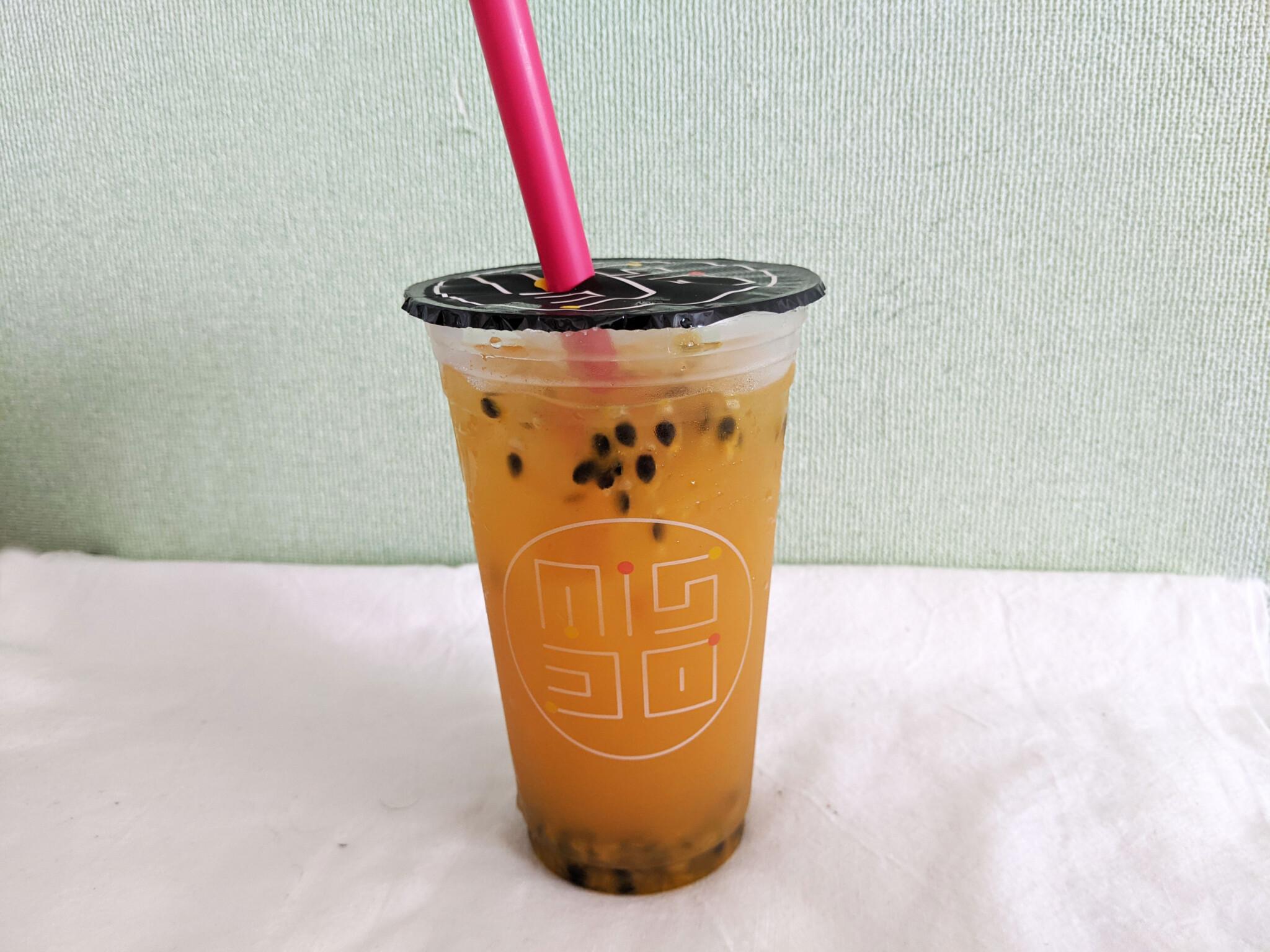 むぎゅっとドーナツ ミスド ミスド新作 台湾果茶 ミスタードーナツ