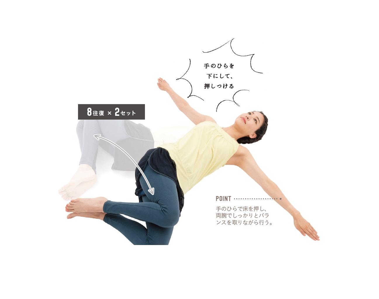 寝たままトレーニング ズボラトレーニング 二の腕 腰痛 簡単トレーニング