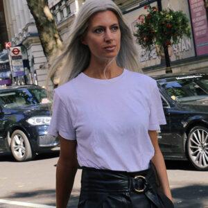 白Tシャツ、着回し最強! 絶対垢抜ける「夏の白シャツ大人コーデ」6選