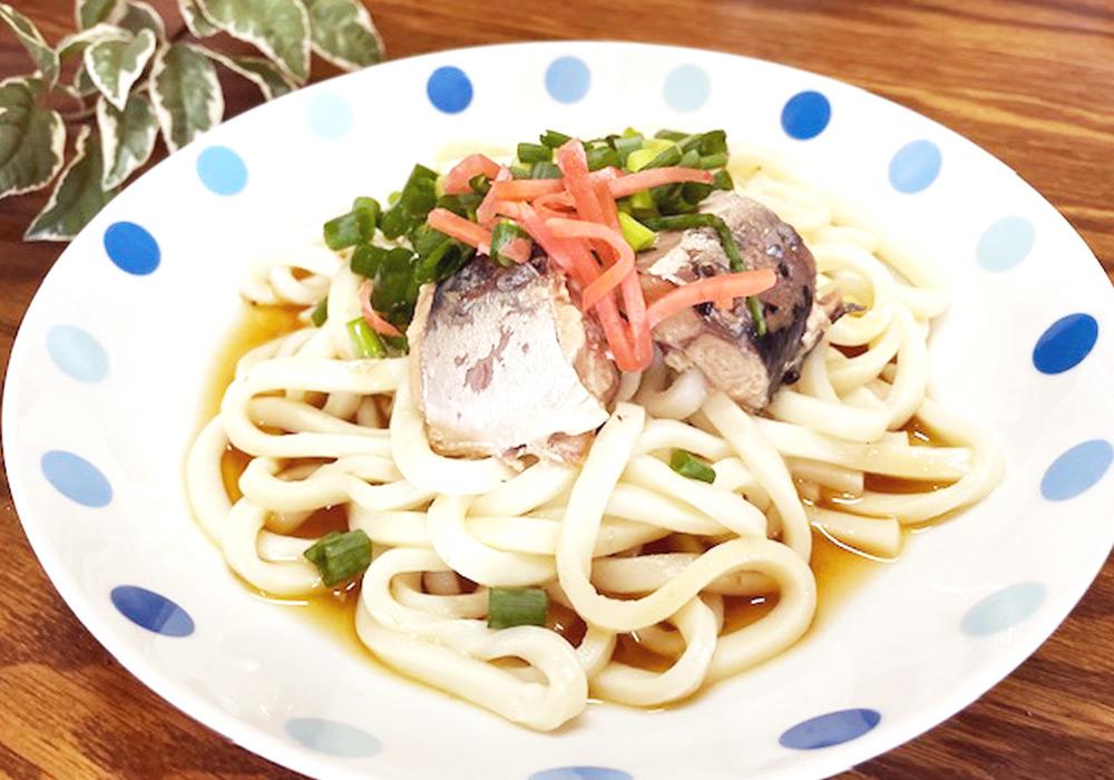簡単 うどん 麺 ランチ レシピ サバ 夏 冷やし