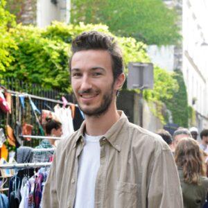 カッコよさに目を奪われる…! パリの青空市で出会った「爽やかな男前」6人