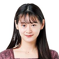 モデル・栢まり子さん