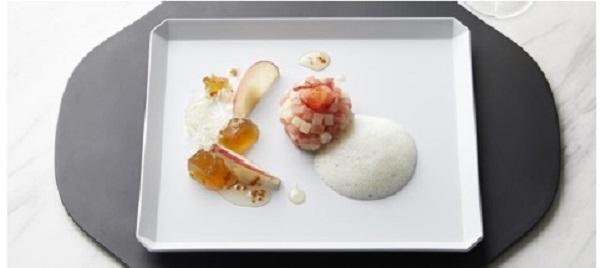 【資生堂】紅玉りんごのきんとん羊羹 日本酒付き