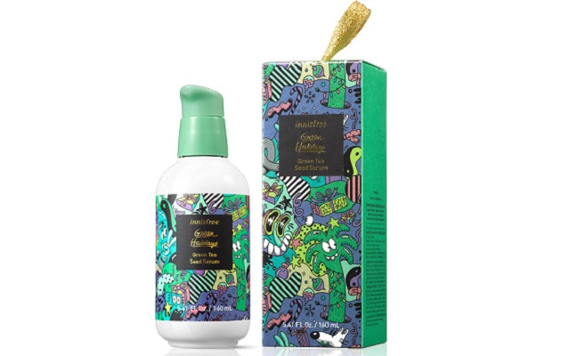 【イニスフリー】『Green Tea Seed Serum 2020 Green Holidays Edition』