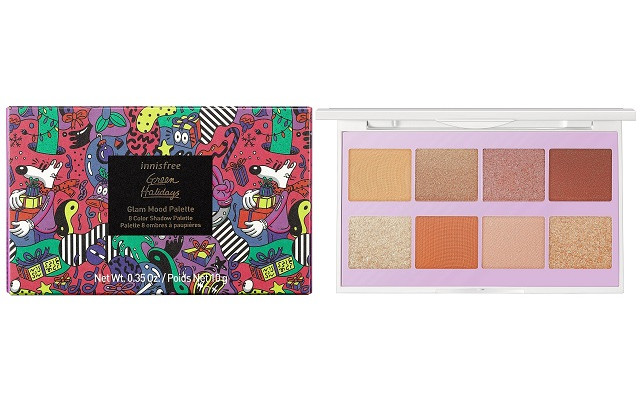【イニスフリー】『Glam Mood Palette 2020 Green Holidays Edition』