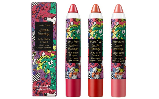 【イニスフリー】『Jelly Balm Crayon 2020 Green Holidays Edition』