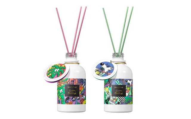 【イニスフリー】『Fruity Sweet/Deep Floral Perfumed Diffuser 2020 Green Holidays Edition』