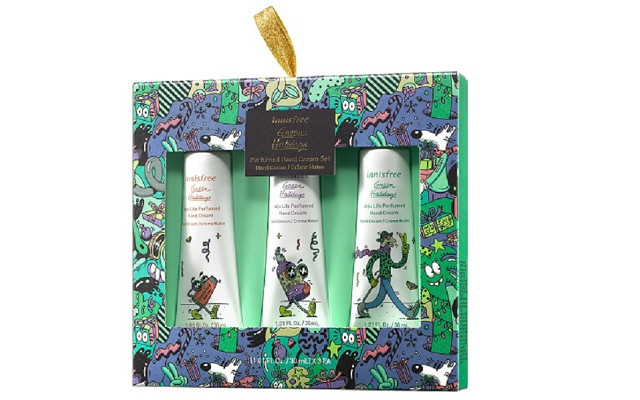【イニスフリー】『Perfumed Hand Cream Set 2020 Green Holidays Edition』