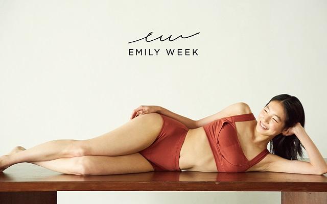 【EMILY WEEK】『ORGANIC COTTON ECO SANITARY SHORTS for RESET』