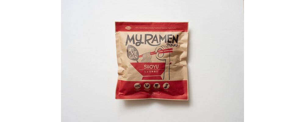 【マイラーメン】オリジナル麺 マイラーメン しょうゆ味