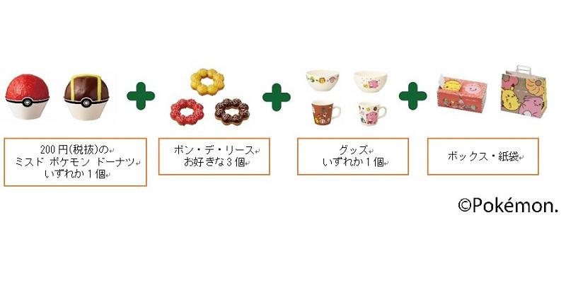 【ミスタードーナツ】『ドーナツセットB』