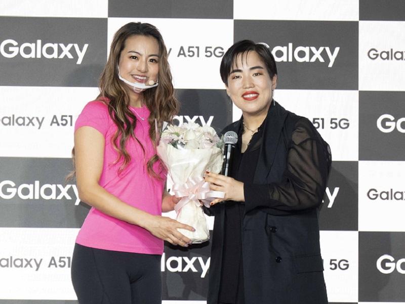 【Galaxy A51 5G】ゆりやんレトリィバァ×岡部友