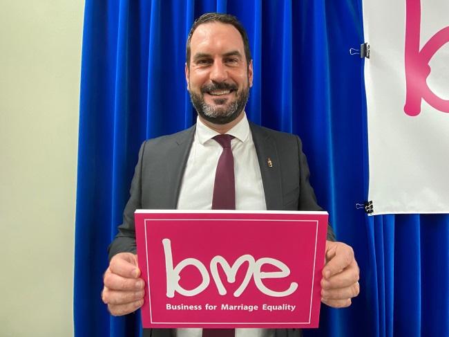 Business for Marriage Equality(BME):日本コカ・コーラ株式会社 人事本部 デピュティ シニアバイスプレジデント・パトリック・ジョーダン氏