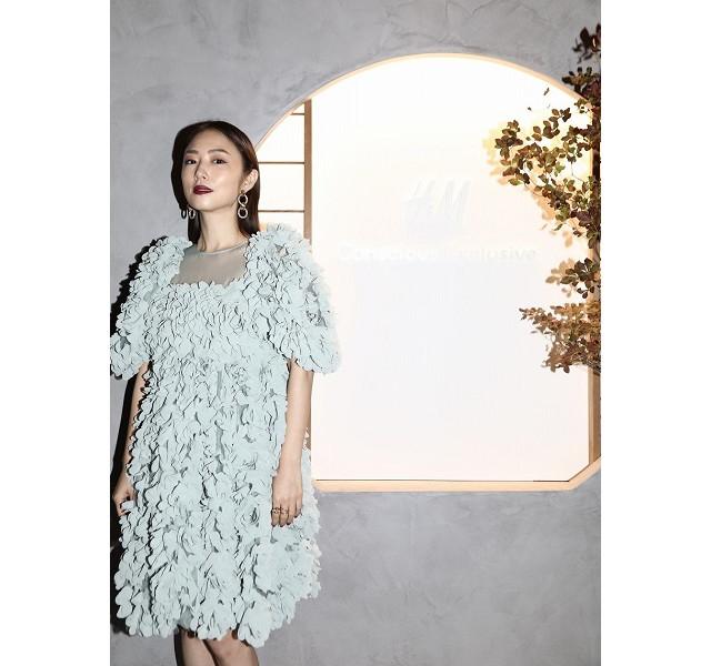 【H&M Conscious Exclusive AW2020】MEGUMIさん