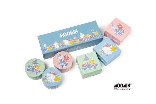 【STEAM CREAM】『STEAMCREAM MOOMIN design mini set -FLOWERS-』