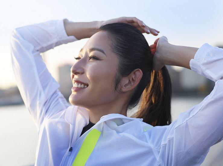 福田萌子さんの笑顔の秘密は… 「私が私であるために」ランニングを続ける理由