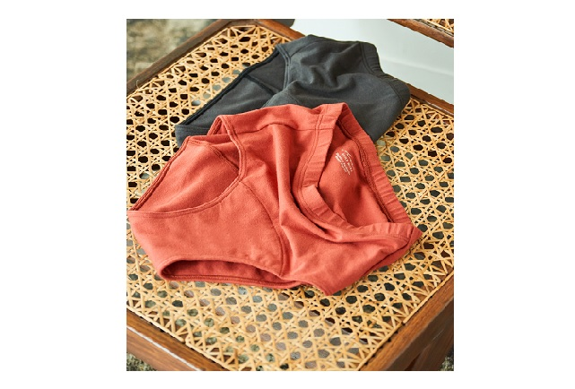 ORGANIC COTTON ECO SANITARY SHORTS for RESET