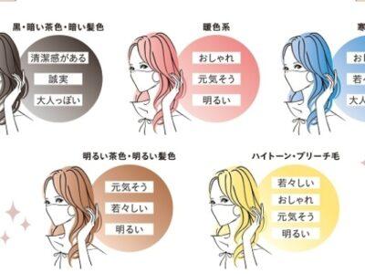 """髪色で周りからの印象がこんなにも変わる… """"あなたがなりたい印象""""でヘアスタイルを選んでみたら?"""