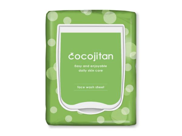 『cocojitan 洗顔シート 大容量』