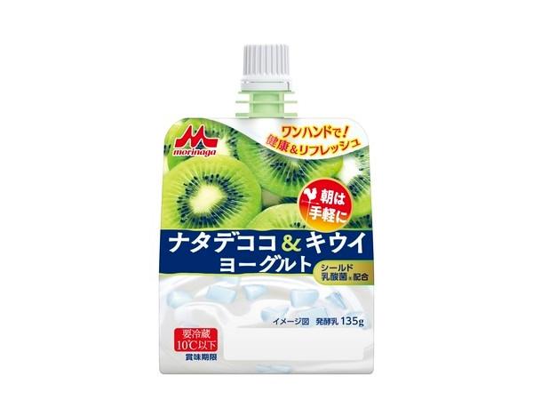 【森永乳業】ナタデココ&キウイヨーグルト ハンディスタイル
