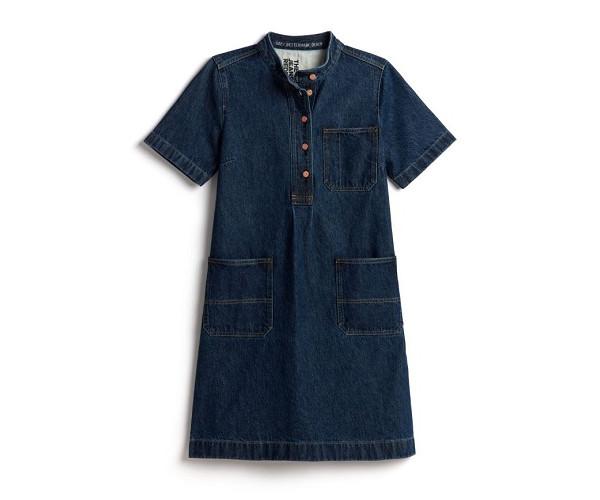 【Gap】スモックドレス