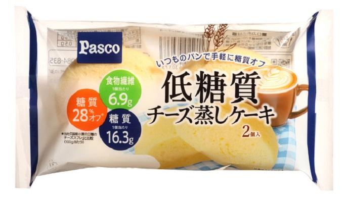 【パスコ】低糖質チーズ蒸しケーキ2個入
