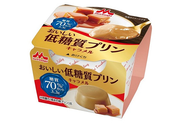 【森永乳業】おいしい低糖質プリン キャラメル