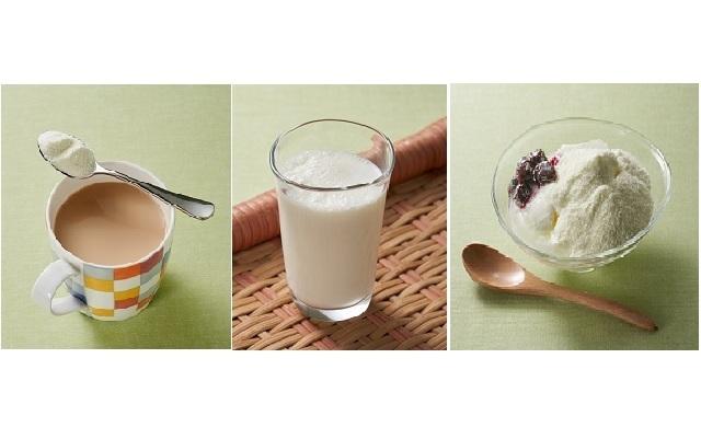【雪印ビーンスターク】『寝起きのミルクティー』『ムラカミ流パワフルミルク』『プラチナミルクヨーグルト』