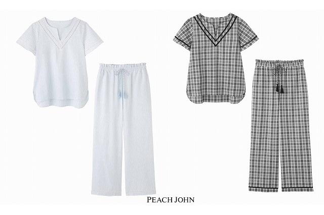 【PEACH JOHN】クーリッシュパジャマ