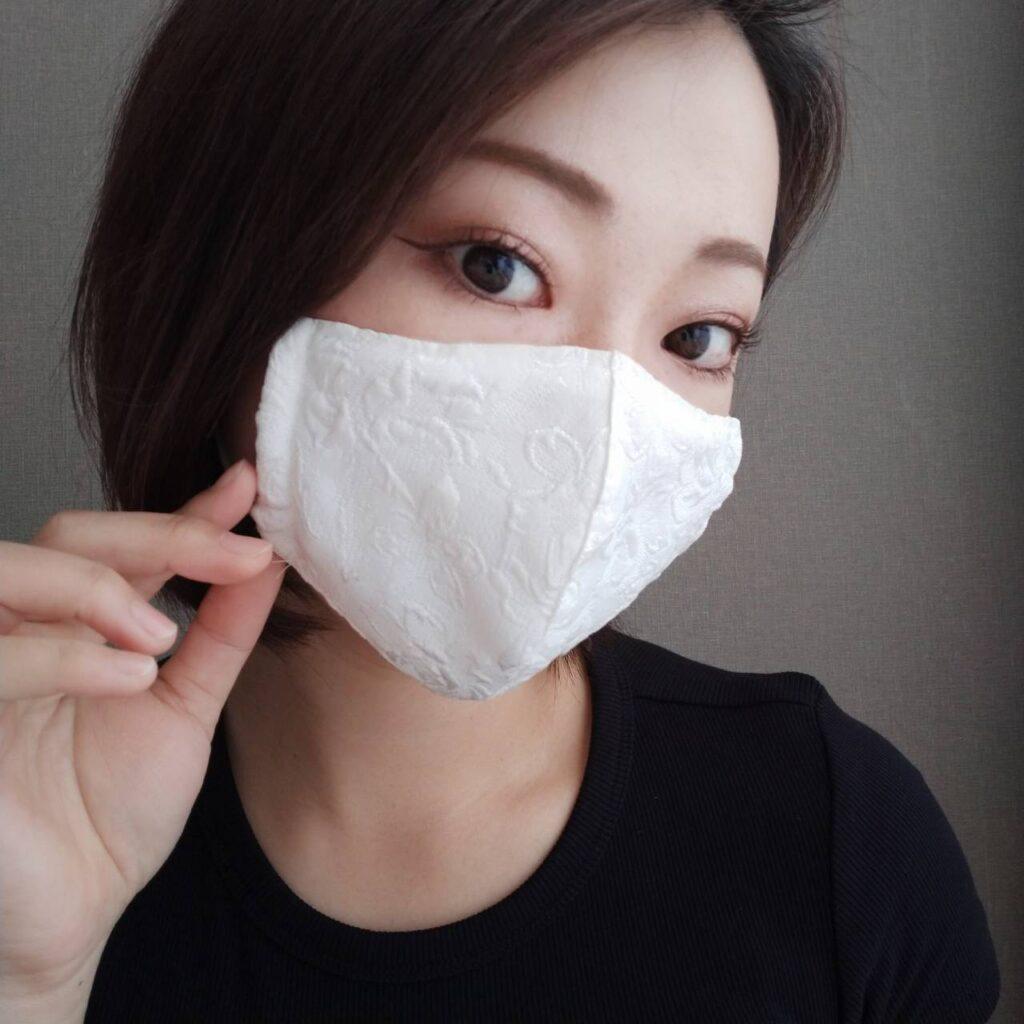 マスク 手作りマスク エコ