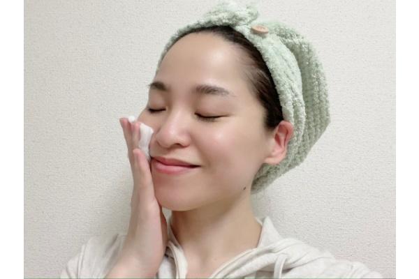【お風呂上がり15分後】化粧水+シートマスク