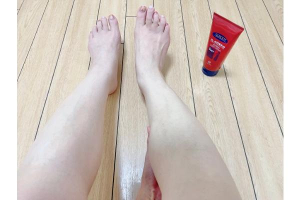 【お風呂上がり30分後】ボディクリームでマッサージやストレッチタイム
