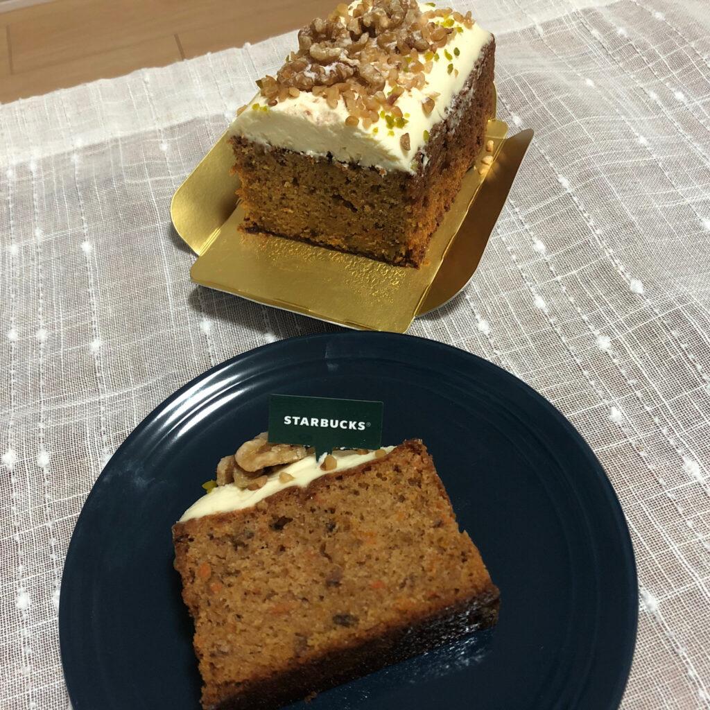 スターバックス『キャロットケーキ』